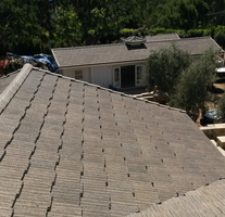 Santa Barbara Ponderosa Staggared Shake Tile Roof