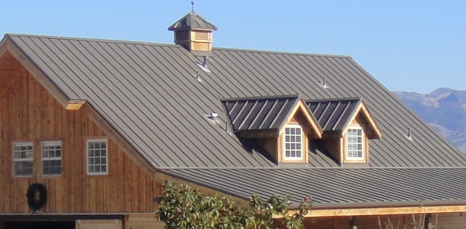 Santa Ynez Valley Standing Seam Metal Roof