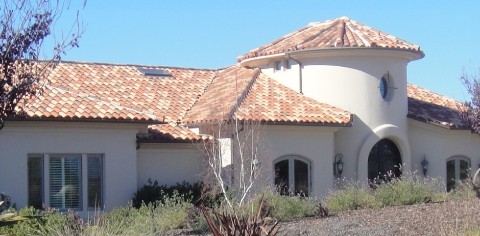 Santa Ynez Clay Tile Roof