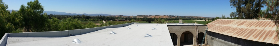 Brander Winery Built-Up Roofing | Los Olivos | Santa Ynez Valley